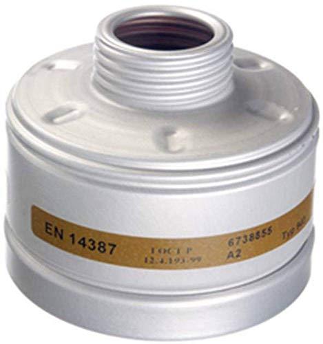 Dräger X-plore Gasfilter 940 A2 (EN 14387) Qualitätsfilter für Masken mit Rundgewinde RD40 (EN 148-1)
