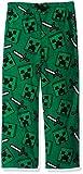Minecraft Boys' Big Lounge Pants, Creeper Cool, 8