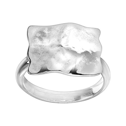 Silpada 'Square Root' Ring in Sterling Silver, Size 7