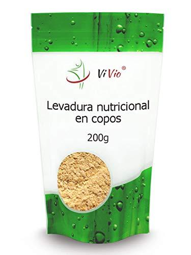 Levadura nutricional en copos 200g | Inactiva | ViVio