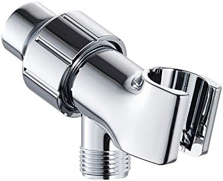 Shower Head Holder for Handheld Shower Head Adjustable Shower Arm Mount with Universal Wall product image