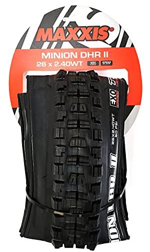 Tires Max Minion Dhr Ii 26X2.4 Bk Fold/60 Dc/Exo/Tr/Wt
