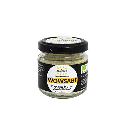 WOWSABI Preparato per wasabi italiano in polvere, fai da te - 40g