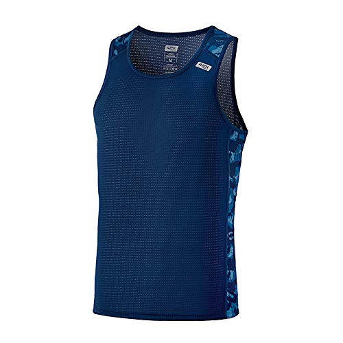 42K RUNNING - Camiseta técnica Tirantes 42k Ares Summer para Hombre Imperial Blue