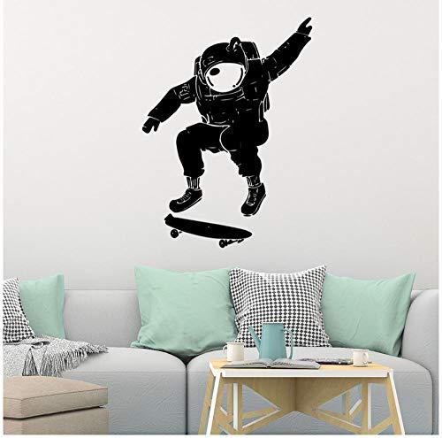Wandaufkleber Moderne Skateboard Dekorative Aufkleber Wasserdicht Home Kinderzimmer Dekoration Aufkleber Kreative Aufkleber 57 cm X 76 cm