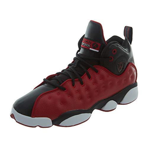 Jordan Kids Jumpman Team II GS Gym RED Gym RED Black White Size 6.5