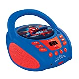 Spider-Man - Lector Radio CD Azul, niño (RCD108SP)