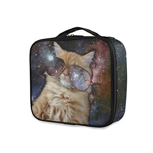 Toilettas opbergen make-up tas draagbare reisgereedschappen cosmetische trein kofferbak coole kattenliefde