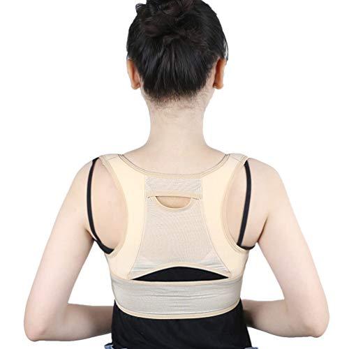 Milisten hållningskorrigering övre ryggstöd stöd stöd nyckelben bälte för nacke rygg axlar storlek L