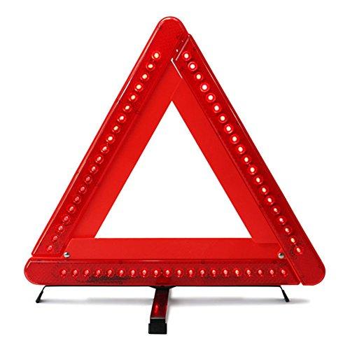 Triangle d'avertissement Pliable LED Sécurité Voiture/Bord de la Route Réfléchissant Triangle D'urgence Réflecteur Clignotant