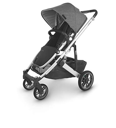 UPPAbaby CRUZ V2 Stroller - JORDAN (charcoal/silver/black leather)
