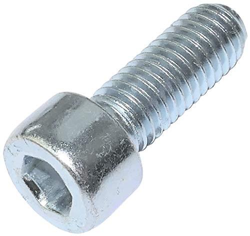 AERZETIX - Juego de 20 piezas - Pernos M8x22 - con cabeza hexagonal interior - Ø8x22mm - DIN 912 - clase 8.8 - acero galvanizado - bricolaje - herramienta de montaje/ferretería - C47691