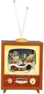 Musicbox World 51013 Small TV Playing Christmas Carols
