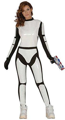 Guirca- Disfraz adulta soldado espacial, Talla 38-44 (84528.0)