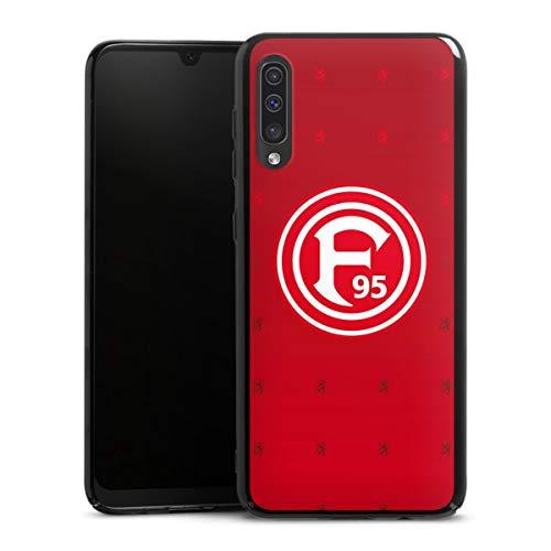 DeinDesign Hard Case kompatibel mit Samsung Galaxy A50 Schutzhülle schwarz Smartphone Backcover Fortuna Düsseldorf Trikot F95