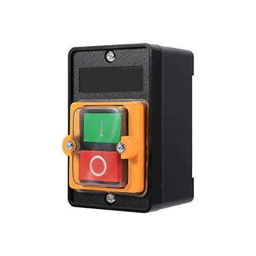 SHYEKYO Interruptor de botón, Accesorios de máquina Herramienta Botón de Interruptor de máquina para controlar su Motor Directamente para maquinaria Industrial