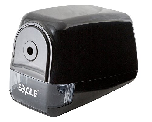 """""""Eagle"""" Electric Pencil Sharpener - Heavy Duty Helical Blade- Medium Use Motor with Overheat Protection - Perfect for Regular Pencils - Best for School, Home, and Office Use"""