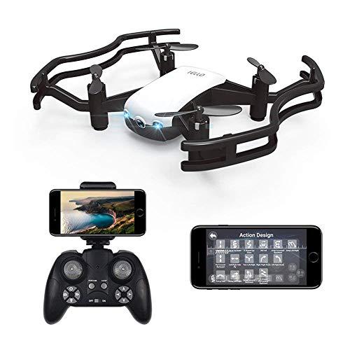 Ydq RC Quadrocopter, Live üBertragung Mit 720P HD Kamera,WiFi App-Steuerung Quadrocopter, 4-Achsen Headless Modus,One Key Start/Landung,3D Flip FüR Kinder Und AnfäNger