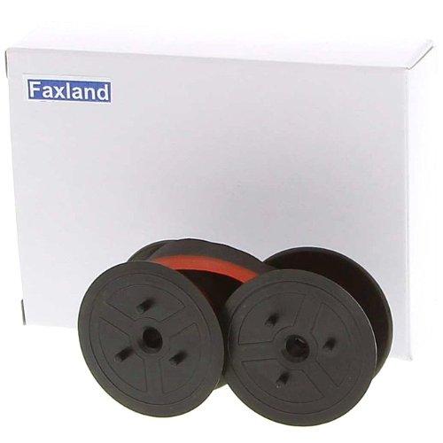 Farbband - schwarz-rot- für Olympia CPD 5212 OLD, kompatibel Marke Faxland