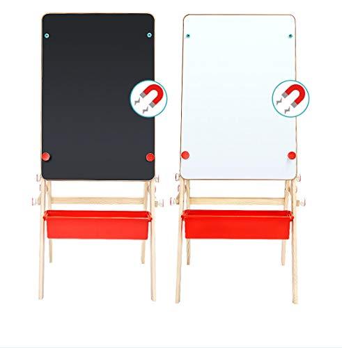 FEIYI Furniture 2-in-1 Zeichentisch Tisch klappbar doppelseitig Porzellan Board höhenverstellbar