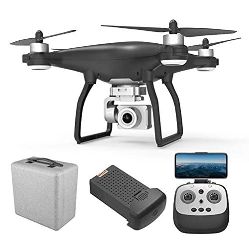 Drone GPS con videocamera HD 4K, drone FPV 5G Wifi con motore brushless, giunto cardanico a 3 assi, quadricottero con tempo volo lungo 30 minuti, videocamera anti-shake 90° ESC, distanza telecomand