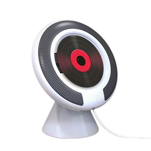 TMY Reproductor de CD portátil Reproductores portátiles de CD Reproductor de Audio Educación Prenatal Inglés Aprendizaje Walkman CD con Bluetooth Repeater Reproductores de CD Reproductor de música