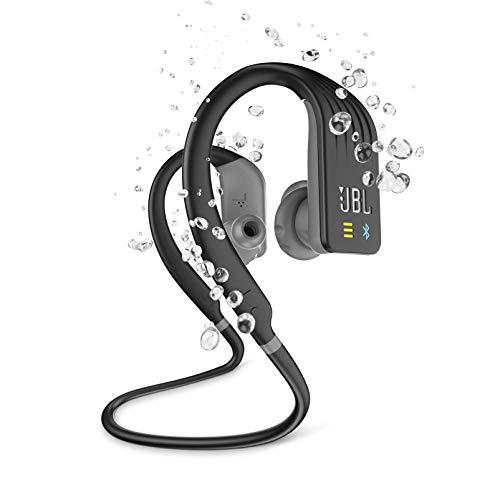 JBL ENDURANCE DIVE Bluetoothイヤホン IPX7防水/MP3プレーヤー1GB内蔵/タッチコントロール機能/ハンズフリー通話対応 ブラック JBLENDURDIVEBLK 【国内正規品/メーカー1年保証付き】