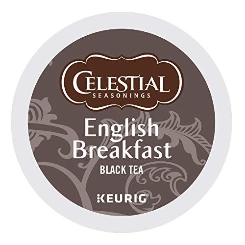 Celestial Seasonings English Breakfast Black Tea, Single-Serve Keurig...