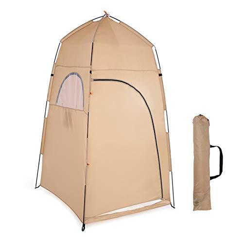 LZ Tienda portátil Plegable para Acampar con Bolsa de Transporte, Hecha de poliéster Impermeable, Ventanas de Malla, ventilación, a Prueba de Insectos, fácil de Instalar