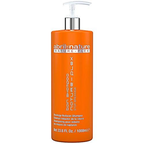 abril et nature | Prevención y reparación del daño del cabello NATURE-PLEX | Champú Profesional para proteger el cabello | Reparación Total | Ideal para usar con tratamientos químicos – 1000ml