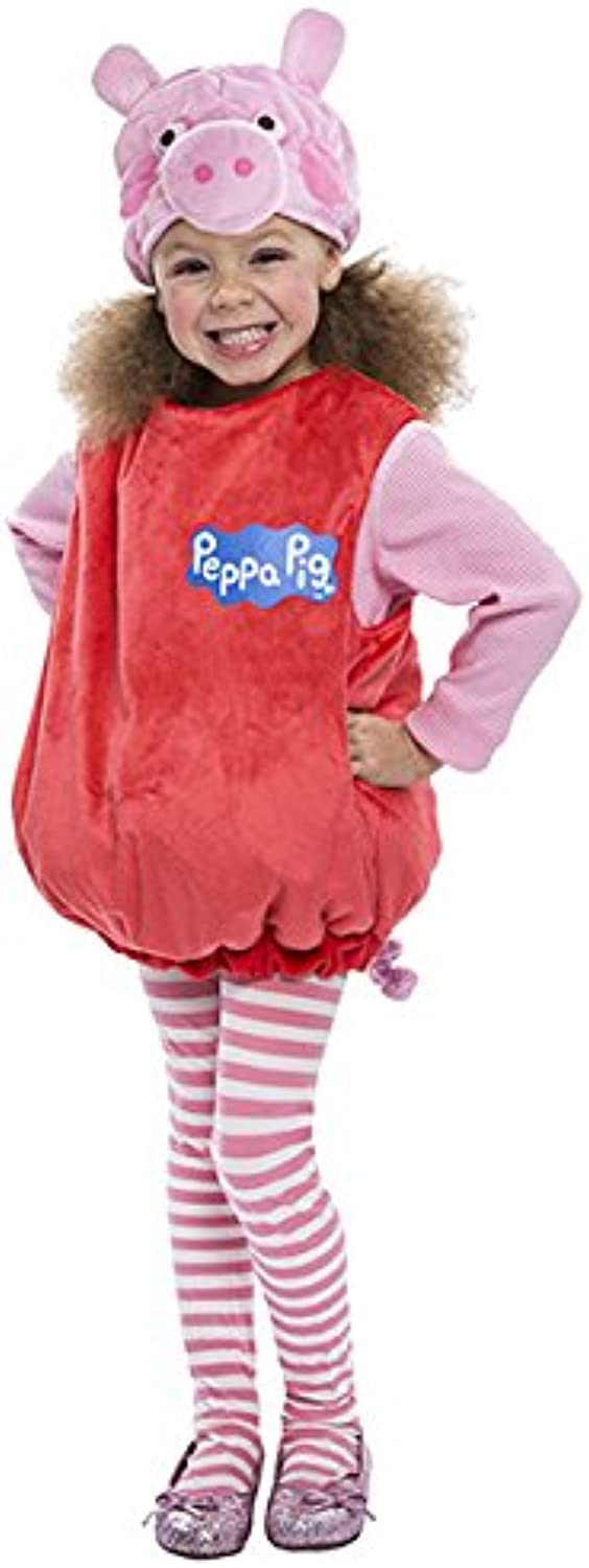 Peppa Pig Bubble Dress Toddler Costume, 34T