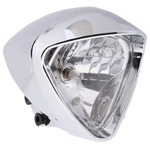 Homyl Faro Anteriore Moto Custom Anodizzato Cromato Metallo Di Alta Qualità