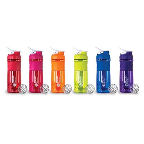 Blender Bottle Sportmixer 828ml Farbe: Rot