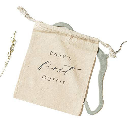Baby Outfit Keepsake Memory Case for Newborn Earth-Friendly Hospital Outfit Storage & Preservation