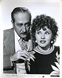 Adolphe Menjou and Ginger Rogers in Roxie Hart