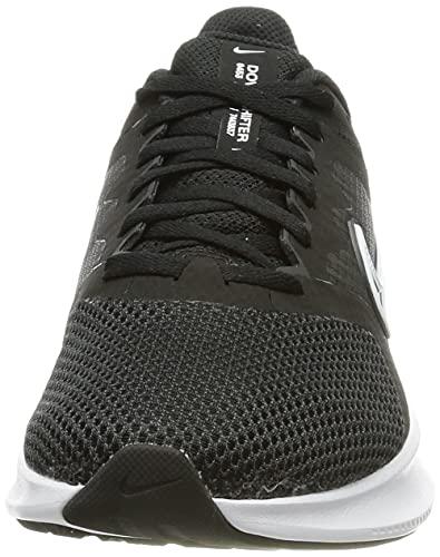Nike Downshifter 11, Zapatillas para Correr Mujer, Black/White-Dk Smoke Grey, 35.5 EU