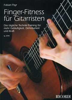 FINGER FITNESS FUER GITARRISTEN - arrangiert für Gitarre [Noten / Sheetmusic] Komponist: PAYR FABIAN