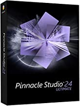 Pinnacle Studio 24 Ultimate | Advanced Video Editing and Screen Recording Software [PC Disc] [Old Version]