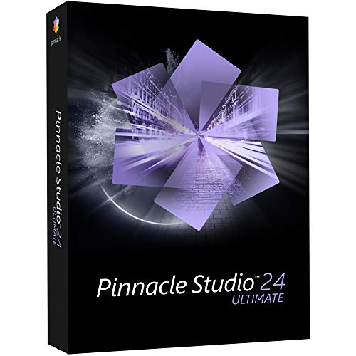 Corel Pinnacle Studio 24 Ultimate Vollversion, 1 Lizenz Windows Videobearbeitung