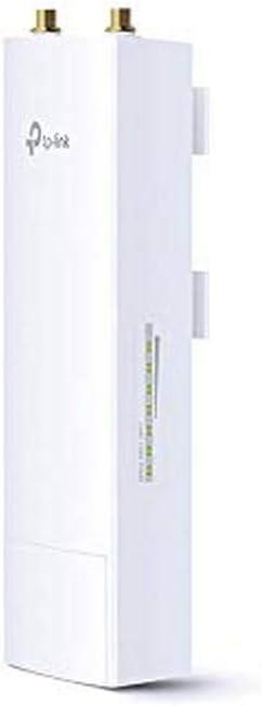 TP-LINK WBS510 - Estación Base para Exteriores de Banda 5 GHz a 300 Mbps (hasta 30 dBm, 2T2R, 1 Puerto 10/100 y 1 Puerto 10/100/1000 LAN, PoE pasivo, ...