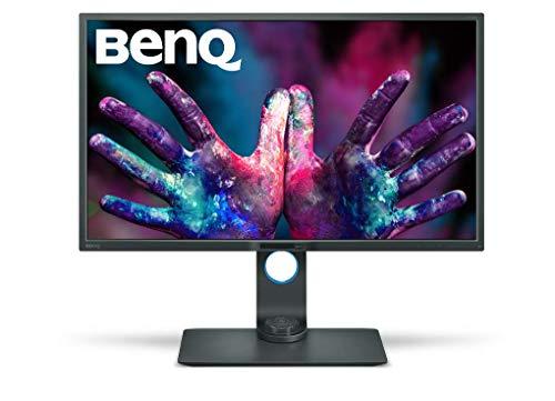 BenQ PD3200Q - Monitor Profesional para Diseñadores de 32' 2K QHD (2560x1440, 100 % Rec.709/sRGB, CAD/CAM, Hotkey Puk, HDMI,...