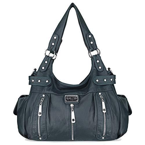 Scarleton Satchel Handbag for Women, Purses for Women, Shoulder Bags for Women, H129207 - Blue