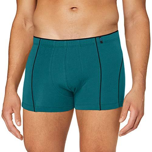 Schiesser Herren 95/5 Shorts Boxershorts, grün, L
