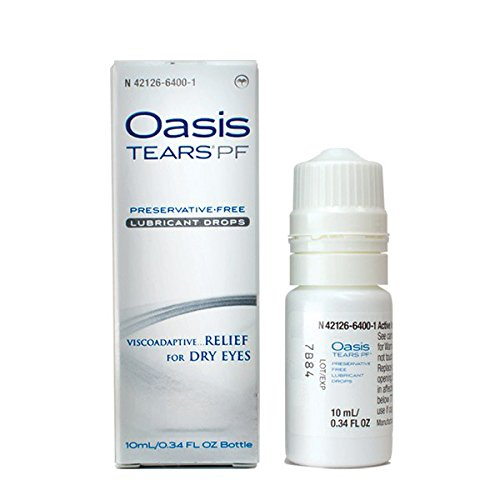 Oasis TEARS PF Preservative-Free Lubricant Eye Drops Relief For Dry Eyes, 0.34 Ounce