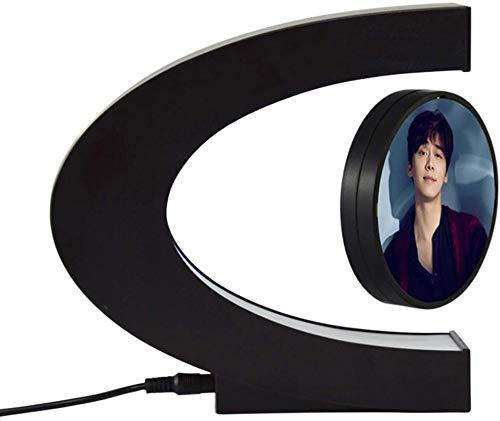 Drijvende magnetische lucht zwevende fotolijst met LED-licht voor speciale geschenken, interieur van de kamer, s nachts licht