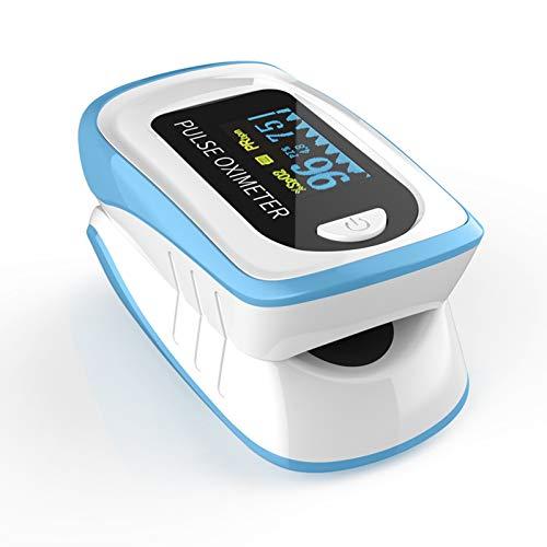 Fingerspitzen-Impulsoximeter, LED-Display-Batteriebetrieb, Finger-Blutimpuls Sauerstoff Sättigung Monitor Tragbare Gesundheitswesen