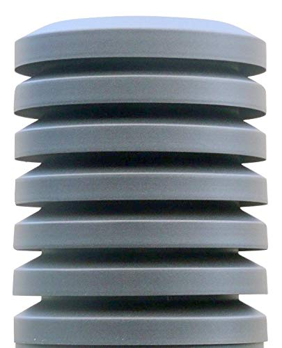 Sombrero chimenea PARAVENT Diámetro 200mm. Galvanizado Oxirón Gris