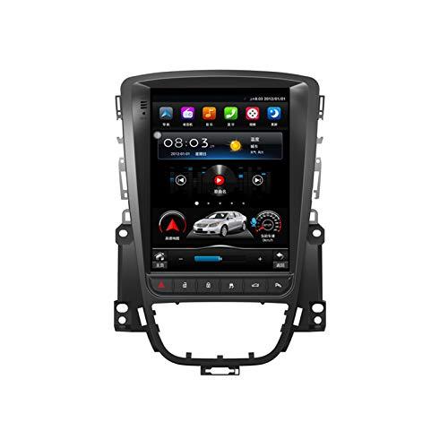 QBWZ Android 10.0 Car Stereo Double DIN para Buick Excelle/Opel Astra J 2010-2014 Navegación GPS Unidad Principal de 10.4 Pulgadas Pantalla táctil Reproductor Multimedia MP5 Receptor de Video y Radio
