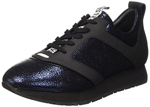 Bikkembergs Runn-ER 786 Shoe W Leather Cracked, Scarpe Low-Top Uomo