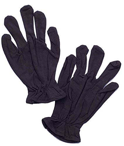 Forum Novelties Black Theatrical Adult Costume Gloves